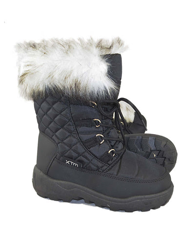 Image of XTM Inessa Girls Snow Boots-23-24-Black-aussieskier.com