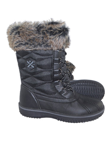 Image of XTM Pamela Ladies Snow Boots-36-Black-aussieskier.com