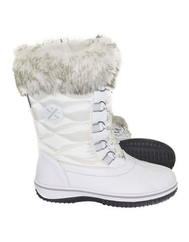 Image of XTM Pamela Ladies Snow Boots-36-White-aussieskier.com