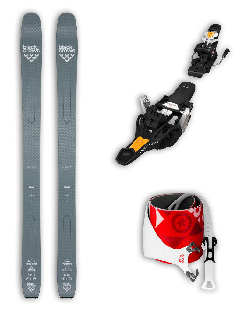 Black Crows Ferox Freebird Skis + Fritschi Tecton Bindings + G3 Alpinist Skis Package 2020-aussieskier.com
