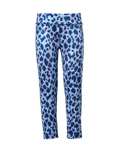 Rojo Girls 7/8 Thermal Pants-4-Animal Splash-aussieskier.com