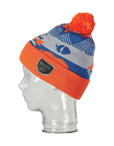 Image of Elude Growl Beanie-Red Orange-aussieskier.com