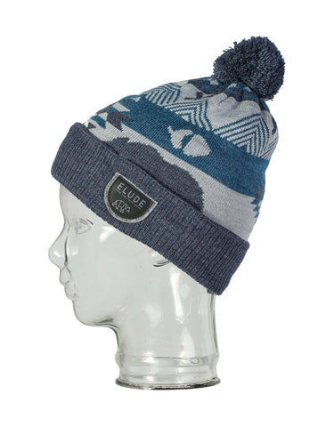 Image of Elude Growl Beanie-Wing Teal-aussieskier.com