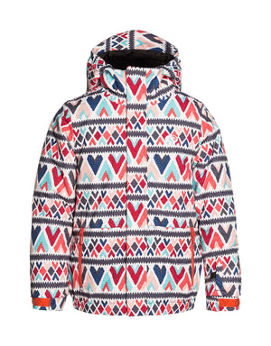 Rip Curl Olly Printed Junior Ski Jacket