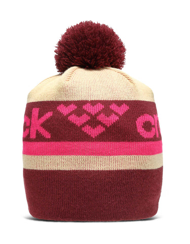 Image of Black Crows Nomen Beanie-Burgundy / Pink-aussieskier.com