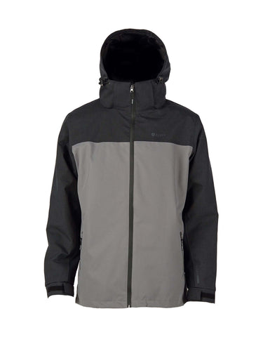 Elude Journey Ski Jacket-Medium-Black / Grey-aussieskier.com