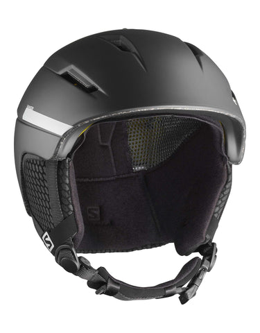 Image of Salomon Ranger 2 4D Ski Helmet-Small-Black-aussieskier.com
