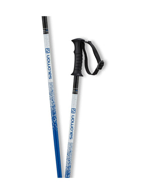 Salomon Kaloo Junior Ski Poles-70cm-Blue-aussieskier.com