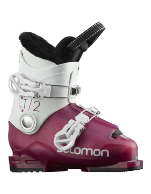 Salomon T2 RT Girly Kids Ski Boots-aussieskier.com