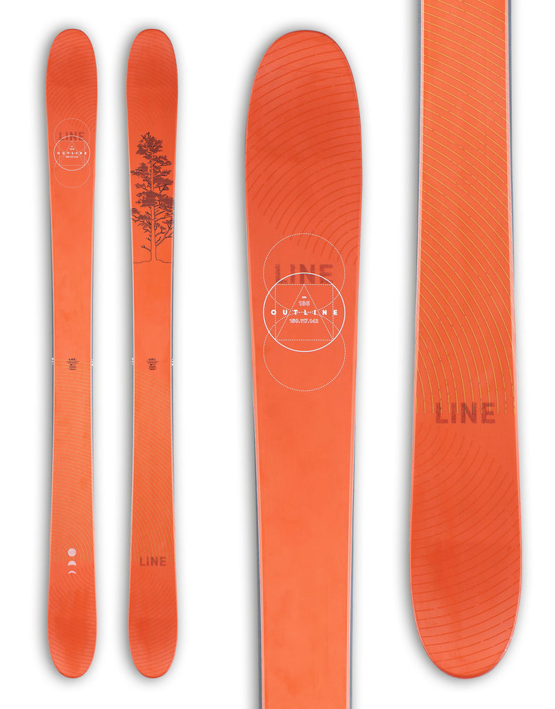 Line Outline Powder Skis 2021