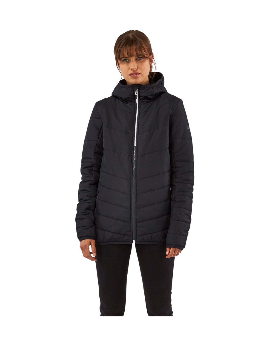 Mons Royale Womens Rowley Insulation Hooded Jacket