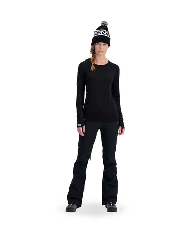 Mons Royale Womens Cornice Long Sleeve Base Layer-aussieskier.com