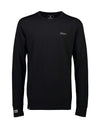 Mons Royale Mens Alta Tech Long Sleeve Crew Base Layer-Small-Black-aussieskier.com