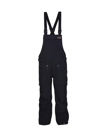 Planks Yeti Hunter Mens Bib Ski Pants-Small-Black-aussieskier.com
