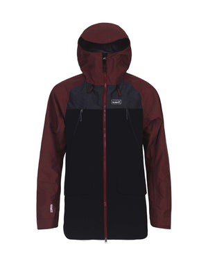 Planks Yeti Hunter Mens Ski Jacket-Small-Maroon-aussieskier.com