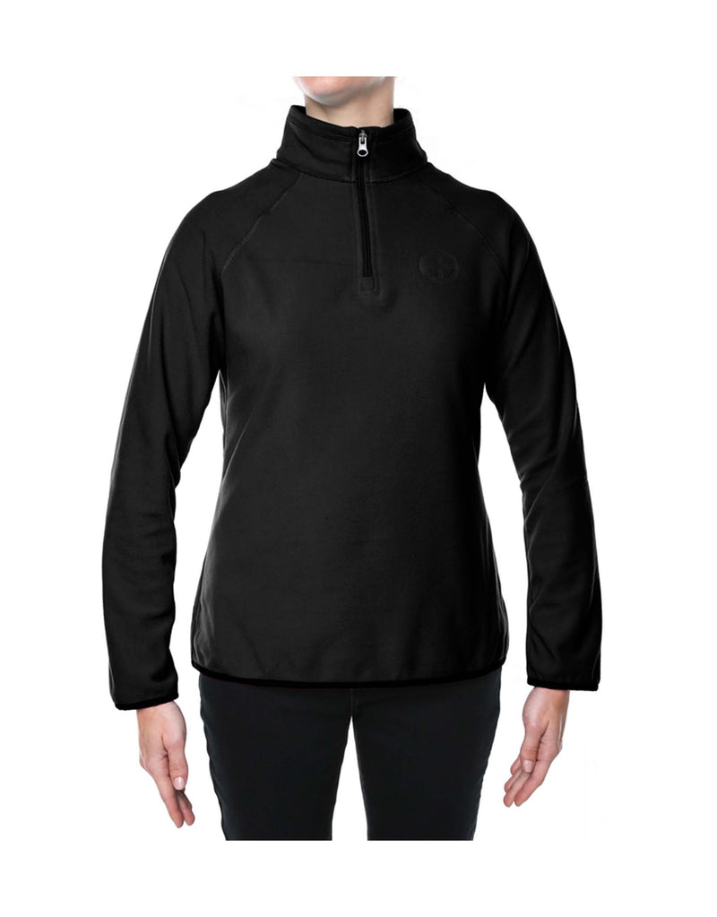 Vigilante Womens Move Free 1/4 Zip Fleece-aussieskier.com