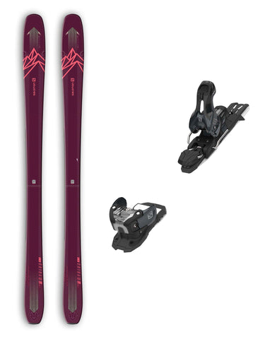 Salomon QST Myriad 85 Womens Skis + Salomon Warden 11 Bindings Package 2020