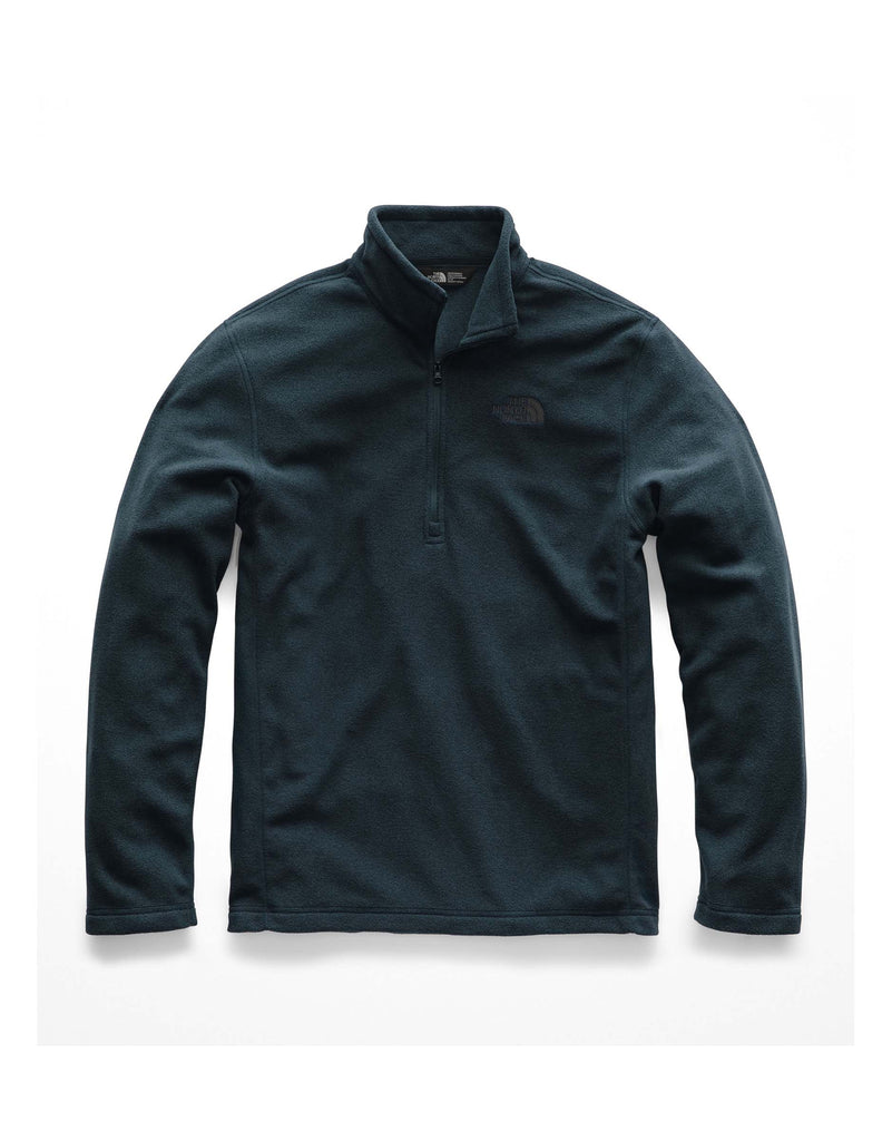 The North Face Glacier 1/4 Zip Fleece-Small-Kodiak Blue-aussieskier.com