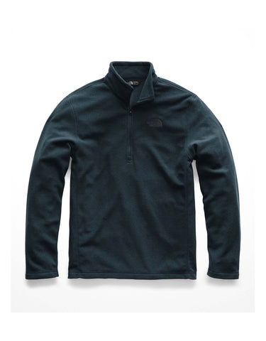 Image of The North Face Glacier 1/4 Zip Fleece-Small-Kodiak Blue-aussieskier.com