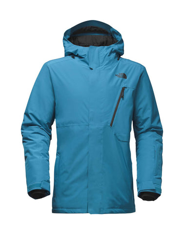 Image of The North Face Descendit Ski Jacket-Small-Brilliant Blue-aussieskier.com