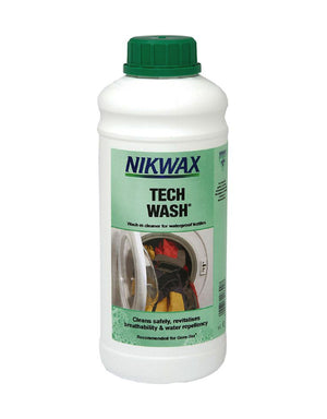 Nikwax Tech Wash Clothing & Equipment Cleaner - 1L