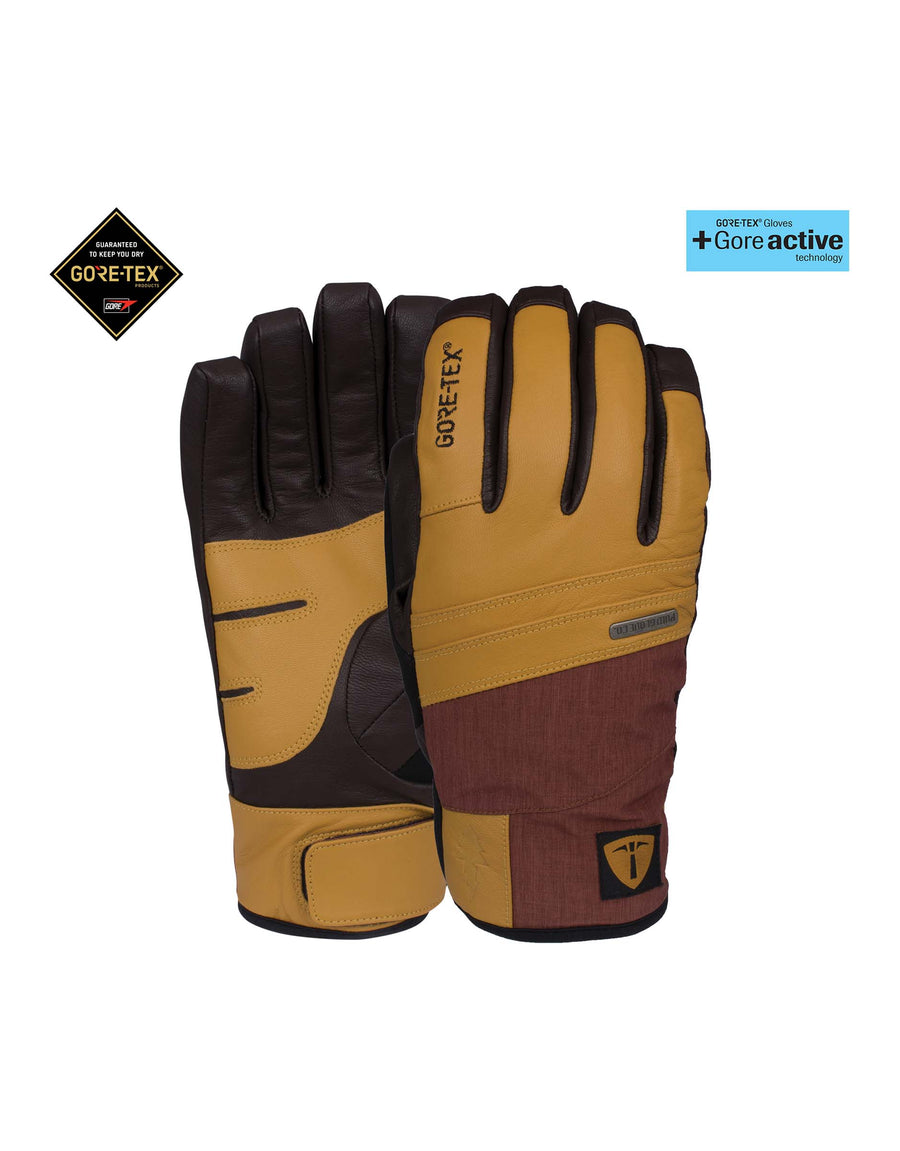 POW Royal Gloves-Small-Black-aussieskier.com