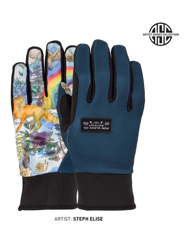 Image of POW All Day Gloves-Small-Rainbow-aussieskier.com