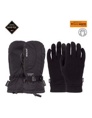 POW Crescent Long Gore Tex Womens Mittens