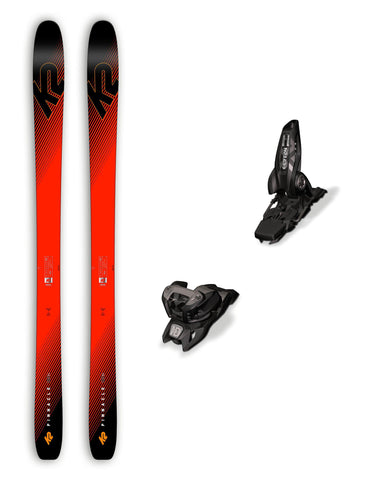 K2 Pinnacle 105 Ti Skis + Marker Griffon ID Bindings Package 2019-aussieskier.com