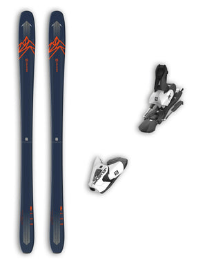 Salomon QST 85 Skis + Salomon Z12 Bindings Package 2020-177cm-aussieskier.com