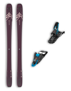 Salomon QST 99 Lumen Womens Skis + Salomon S/Lab Shift Bindings Package 2020