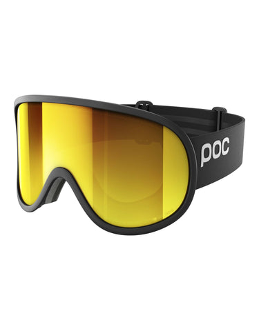 Image of POC Retina Big Clarity Ski Goggles-Uranium Black / Spektris Orange Lens-aussieskier.com