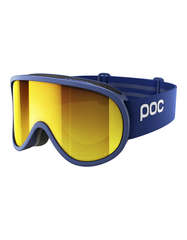 POC Retina Clarity Ski Goggles-Basketane Blue / Spektris Orange Lens-aussieskier.com