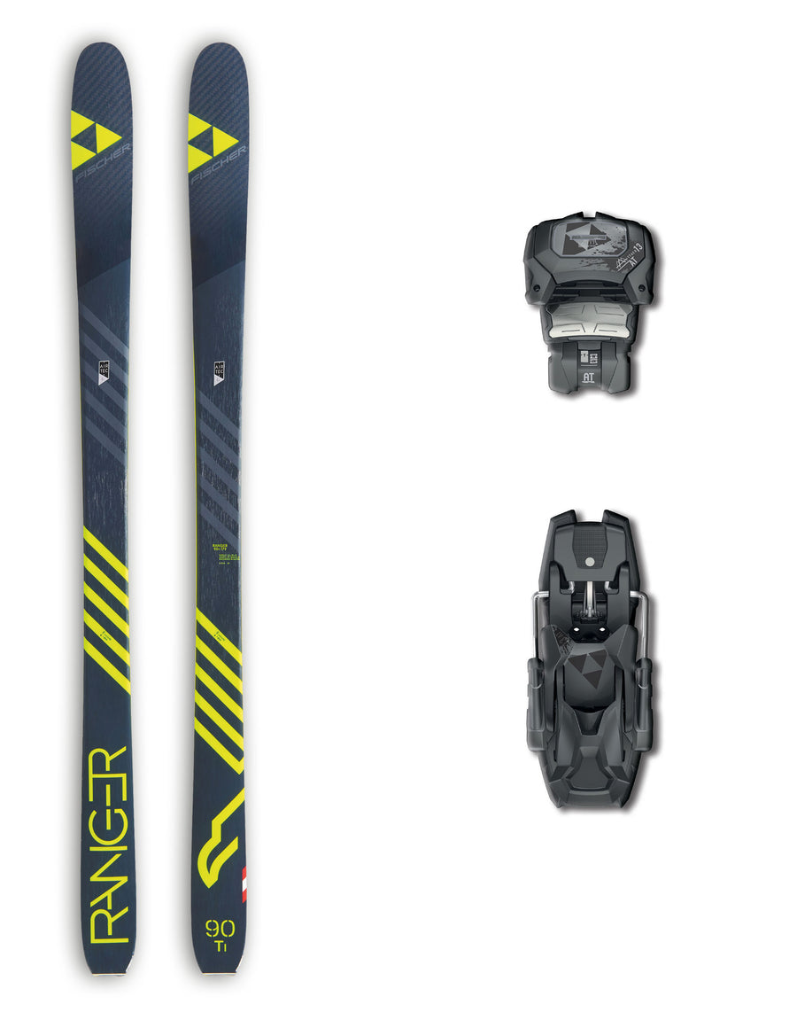 Fischer Ranger 90 Ti Skis + Fischer Attack 13 AT Bindings Package 2019-aussieskier.com