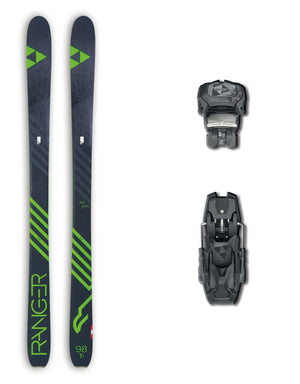 Fischer Ranger 98 Ti Skis + Fischer Attack 13 AT Bindings Package 2019-aussieskier.com