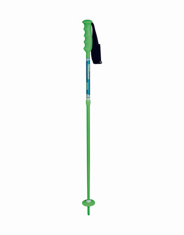 Image of Komperdell Runningback Vario Kids Adjustable Poles-Green-aussieskier.com