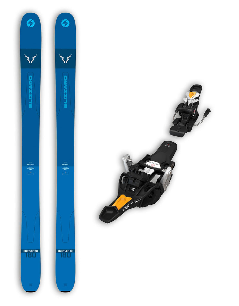 Blizzard Rustler 10 Skis + Fritschi Tecton 12 Bindings Package 2020