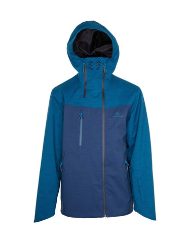 Image of Rip Curl Core Gum Ski Jacket-Small-Insignia Blue-aussieskier.com