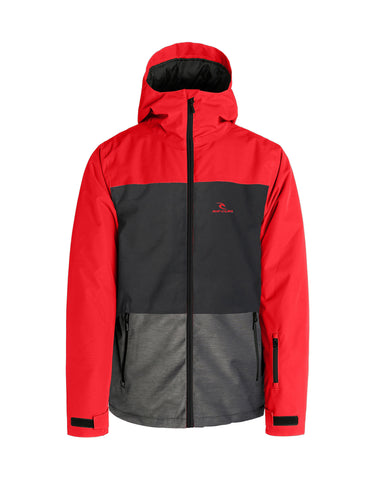 Image of Rip Curl Enigma Stacka Ski Jacket-Small-Aurora Red-aussieskier.com