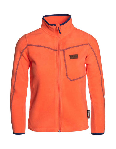 Image of Rip Curl Junior Full Zip Micro Fleece-6-Hot Coral-aussieskier.com