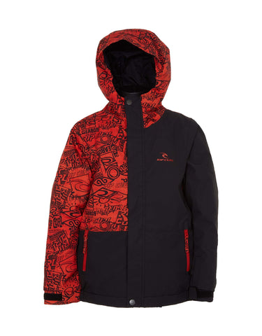 Image of Rip Curl Enigma Junior Ski Jacket-2-Orange-aussieskier.com