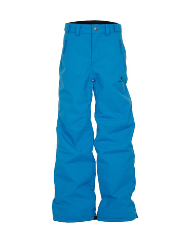 Image of Rip Curl Base Junior Ski Pants-2-Mediterranean Blue-aussieskier.com