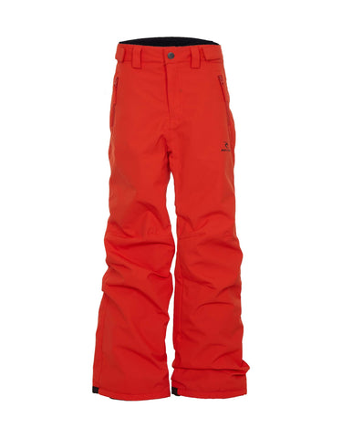Image of Rip Curl Base Junior Ski Pants-2-Orange-aussieskier.com