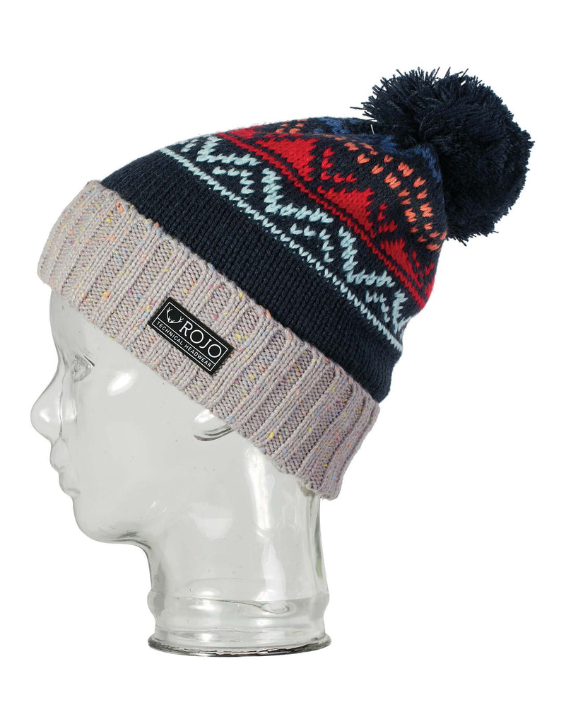 Rojo Sky High Beanie-True Navy-aussieskier.com