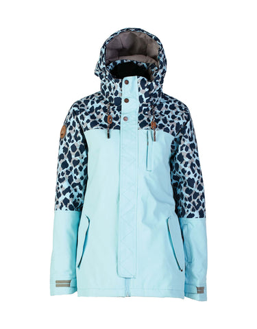 Image of Rojo Snowlife Womens Ski Jacket-8-Crystal Blue-aussieskier.com