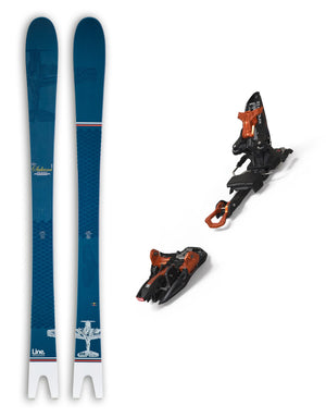 Line Sakana Skis + Marker Kingpin 13 Bindings Package 2020