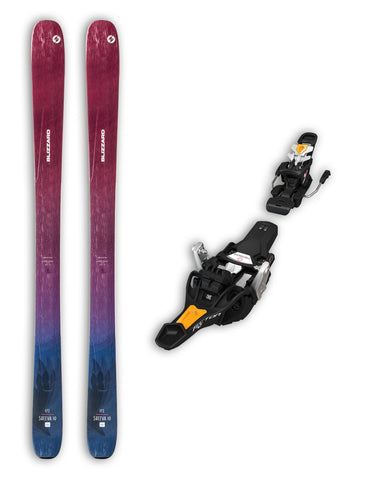 Blizzard Sheeva 10 Womens Skis + Fritschi Tecton 12 Package Bindings 2020