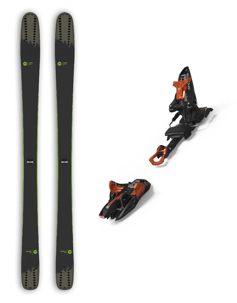 Rossignol Sky 7 HD Skis + Marker Kingpin 13 Package Bindings 2020