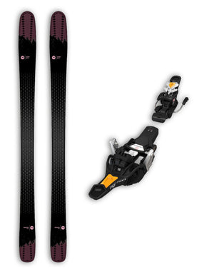 Rossignol Sky 7 HD Womens Skis + Fritschi Tecton 12 Bindings Package 2020