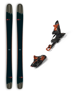 Rossignol Soul 7 HD Skis + Marker Kingpin Bindings Package 2020